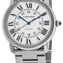 Cartier Ronde Solo 36MM Steel Round Swiss Automatic Unisex...