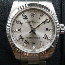 Rolex Oyster Perpetual 26 Steel 26mm Silver Roman numerals United States of America, New York, New York