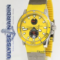Ulysse Nardin Maxi Marine Diver Chronometer Steel Yellow Mens...