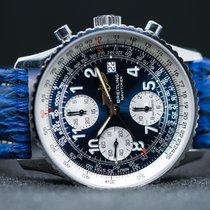 Breitling Old Navitimer Chronometer Blue Dial