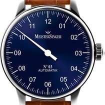 Meistersinger Steel 43mm Automatic AM908 new