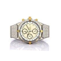 Breitling 81950 Gold/Steel Chronomat 39mm pre-owned