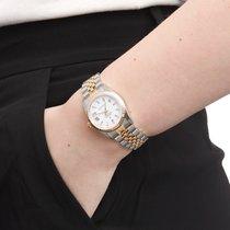 Rolex Lady-Datejust Goud/Staal 31mm Wit Romeins Nederland, Amsterdam