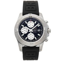 Breitling Colt Chronograph Automatic Steel 44mm Blue No numerals United States of America, New York, New York