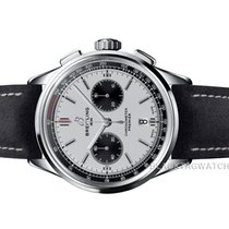Breitling Chronograph 42mm Automatic 2019 new Silver