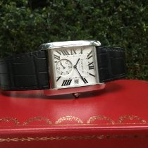 Cartier Tank MC pre-owned Steel
