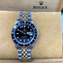 Rolex 40mm Automatic 1999 pre-owned GMT-Master II Black