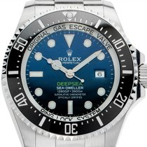 勞力士 精密計時器 44mm 自動發條 新的 Sea-Dweller Deepsea
