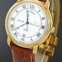 Maurice Lacroix Masterpiece pre-owned 38mm Date GMT Leather