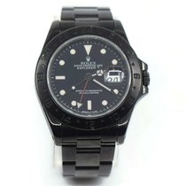 Rolex Explorer II Steel 40mm Black No numerals United States of America, New York, New York