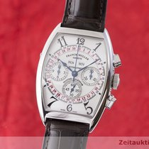 Franck Muller Steel Automatic Silver 34mm pre-owned
