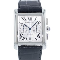 Cartier Tank MC Steel 34.5mm Silver United States of America, Georgia, Atlanta
