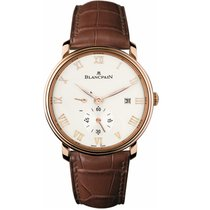 Blancpain Rose gold 40mm Automatic 6606-3642-55B new