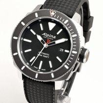 Alpina Seastrong Steel 44mm Black