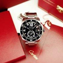 Cartier Calibre de Cartier Diver Сталь 42mm Чёрный