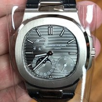 Patek Philippe Nautilus White gold 40mm Grey No numerals United States of America, New Jersey, Oakhurst