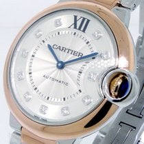 Cartier Ballon Bleu 36mm new Automatic Watch with original box and original papers W3BB0007
