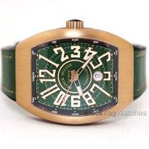 Franck Muller Bronze Automatic Green Arabic numerals 45mm new Vanguard