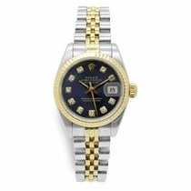 Rolex Lady-Datejust Acero 26mm Azul