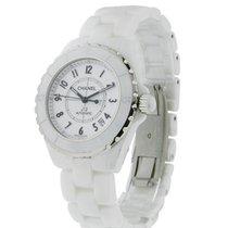 Chanel H0970 J12 Automatic in White Ceramic - on White Ceramic...