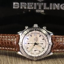 Breitling CHRONOMAT DATE A13352 MOTHER OF PEARL DIAL RARE