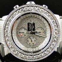 Breitling 38 Ct Mens  Breitling Super Avenger Vs Diamond Watch...