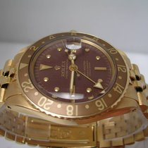 Rolex GMT 1675 Occhio Di Tigre 18 Kt Solid Gold YEAR 1978