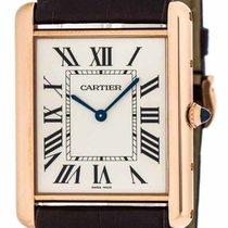 Cartier W1560017 Tank Louis Mechanical 18k PinkGold Men...