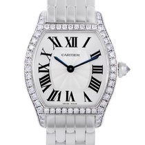 Cartier Tortue new 30mm White gold