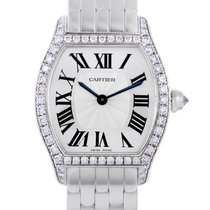 Cartier Tortue White gold 30mm Silver Roman numerals United States of America, Pennsylvania, Southampton
