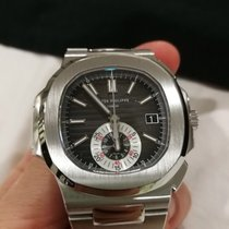 Patek Philippe Nautilus 5980 BLACK DIAL Serviced VERY RARE