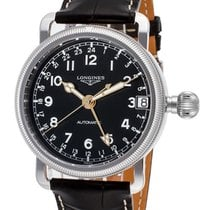 Longines Heritage Avigation Automatic Steel Mens Strap Watch...