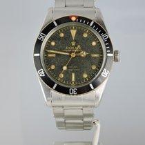 Rolex 1956 Submariner 6536-1 rare Tropical Gilt Dial, Red...