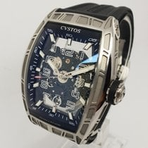 Cvstos Challenge Jet-Liner SL Men's Watch, Steel Skeleton Watch