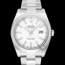 Rolex Steel Automatic White new Datejust