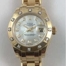 Rolex Lady-Datejust Pearlmaster with Diamonds