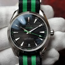 Omega Seamaster Aqua Terra Steel 41mm Black No numerals United States of America, Florida, Debary