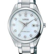 Lorus new Quartz 30mm Steel Mineral Glass