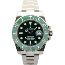 Rolex Steel Automatic Green No numerals 40mm new Submariner Date