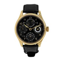 IWC Portuguese Perpetual Calendar Rose gold 44.2mm Black Arabic numerals United States of America, New York, New York
