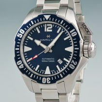 Hamilton Khaki Navy Frogman tweedehands 42mm Staal