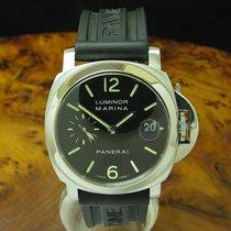 Panerai Luminor Marina Automatic Stahl 40mm Schwarz Arabisch Deutschland, Elsdorf-Westermühlen