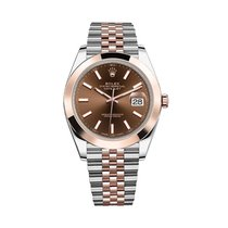 Rolex Datejust Gold/Steel 41mm Brown No numerals United States of America, Florida, Hollywood