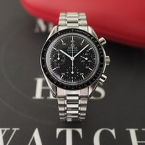 Omega Speedmaster Reduced Acero 38mm Negro Sin cifras