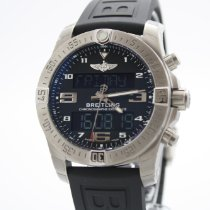 Breitling Exospace B55 Connected Титан 46mm Черный Aрабские