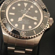 Rolex Sea-Dweller Deepsea Steel 44mm Black No numerals UAE, Dubai