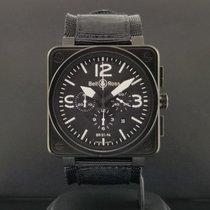 Bell & Ross BR 01-94 Chronographe Staal 46mm Zwart