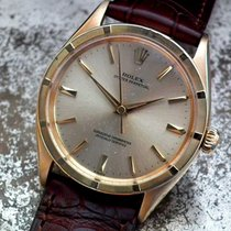 Rolex Oyster Perpetual 33mm Champagnerfarben