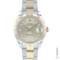 Rolex Datejust Gold/Stahl 31mm Gold