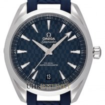 Omega Stahl 41mm Blau